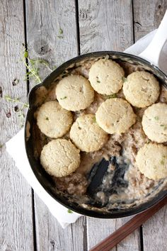 Grain Free Biscuits and Gravy   simplerootswellness.com