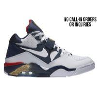 Nike Air Force 180 - Men's - Charles Barkley - White / Navy