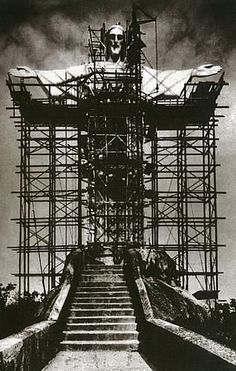 Old Photos, Vintage Photos, Christ The Redeemer Statue, History Of Photography, Historical Pictures, Architecture Details, Wonders Of The World, South America, Past