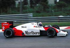 1985 McLaren MP4/2B -TAG Porsche (Alain Prost)