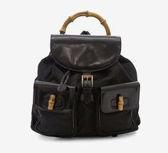 Gucci Black Backpack ➨ http://vaunte.hardpin.com/tracker/c.php?m=HardPin&u=type337&url=https://www.vaunte.com/items/gucci-black-backpack-1?medium=HardPin&source=Pinterest&campaign=type337&ref=hardpin_type337