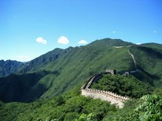 The Great Wall of China--would like to go one day
