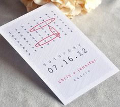 Word Search Puzzzle Save The Date from @etsy wedding seller A Visual Concept