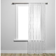 Umbra Sloane Sheer Single Curtain Panel