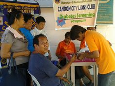 Candon City #LionsClub ( Philippines ) on their continues weekly  free diabetes screening for the needy already served 3,394 patients.