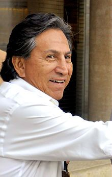 July 28, 2001 – Alejandro Toledo is sworn in as the new president of Peru, 8 months after a vote of no-confidence in former President Alberto Fujimori.