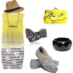 No Such Thing as Too Much Yellow, created by sfunkygirl on Polyvore