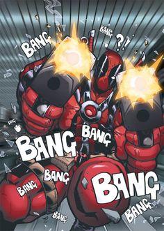 #Deadpool #Fan #Art. (Deadpool) By: RecklessHero. (THE * 5 * STÅR * ÅWARD * OF: * AW YEAH, IT'S MAJOR ÅWESOMENESS!!!™) [THANK U 4 PINNING!!!<·><]<©>ÅÅÅ+(OB4E)