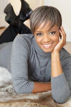 BLACK WOMEN Gray Gracefully | Black, beautiful women, aging gracefully