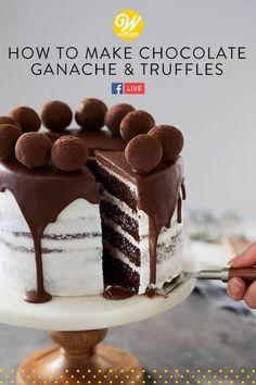Chocolate Peanut Butter Cookies, Dark Chocolate Cakes, Chocolate Ganache, Baking Chocolate, Flourless Chocolate, Decadent Chocolate, Chocolate Truffles, Chocolate Lovers, Ganache Recipe