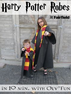 Easy Oly*Fun Harry Potter Costume w/ No-Sew Option by Polly from Pieces by Polly, and I'm back guest blogging for Fairfield with another Happy Harry Potter post today as part of the Happy Harry Potter Series at Raegun Ramblings.  Lots of bloggers will be sharing new Harry Potter themed projects everyday for the next week and a [...]