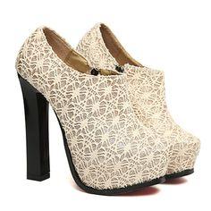 Shop womens shoes boots  Kvoll Lace Chuck Heels  Free Shipping  $48