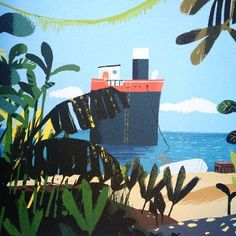 The Book Sniffer: Grandad's Island by Benji Davies