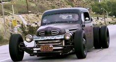 """Mitch Allread: Don't Call it a Rat Rod, call it """"BIG MUSCLE""""!!    http://roadandtrack.com/car-culture/videos/a24266/mitch-allread-dont-call-it-a-rat-rod-big-muscle/"""