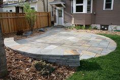 patio/patio wall