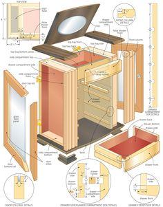 Treasured chest: Build a jewelry box