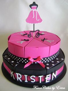 Barbie Fashion Favor Box Cake  Please Contact Me for by FavorCakes, $3.25