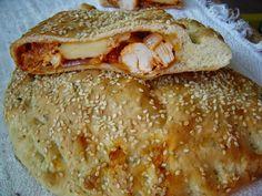 Rozpustne gotowanie: Włoskie ciasto drożdżowe, idealne na pizzę, calzone lub bułki śniadaniowe. Calzone, French Toast, Pizza, Bread, Breakfast, Dom, Cooking, Morning Coffee, Brot