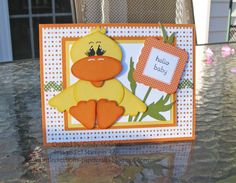 Stampin' Up!  Ornament Punch  Cindy McGurk  Duck
