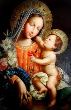 Religiosidade Virtual: Nossa Senhora . Menino Jesus