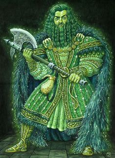 Green Knight by Malcolm Brown