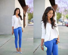 Style Mint Jacket, Bebe Jeans, Club Monaco Clutch, Joe's Jeans Heels