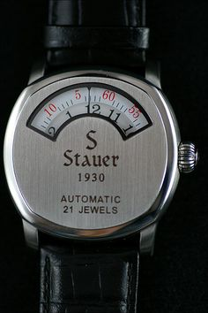 Stauer Dashtronic jumping hour love this watch