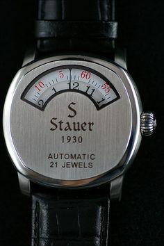 Stauer Dashtronic jumping hour love this watch