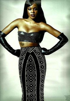 Azealia Banks. She's the next gen of female rapper. Talented singer and rapper. Just wait, she's going to be huge!