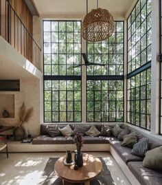 Home Remodel Living Room Loft Tucked Into The Tulum Jungle.Home Remodel Living Room Loft Tucked Into The Tulum Jungle Loft Interior, Home Interior Design, Interior And Exterior, Dream House Interior, Beautiful Houses Interior, Interior Colors, Interior Lighting, Lighting Ideas, Dream Home Design