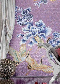 SICIS Orientale Collection Mosaic Tile Work