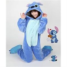 Kigurumi Adult Animal Onesies - Stitch - Shipping Cap Promotion- - TopBuy.com.au