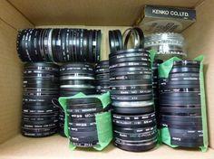 SO838HB レンズフィルター 55mm 各種 大量 150枚 まとめて_レンズフィルター 55mm 各種 大量 150枚