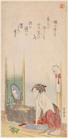 Woman  - Katsushika Hokusai