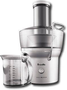 Juice Fountain Compact Electric Juicer  Best juicer I have ever had!