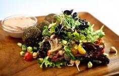 Raw Vegan Middle Eastern Salad