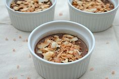 Sea Salt Coconut Chocolate Pudding (paleo)