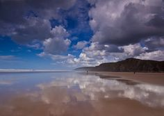 Sandymouth Beach in Cornwall
