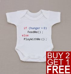 Baby programmer Bodysuit Nerdy Baby One-piece by HaveSomeTeeShop