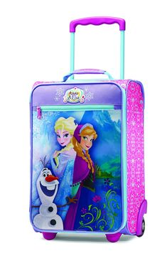 Frozen luggage, luggage for kids