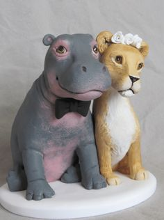 You can incorporate elements that reflect your destination wedding, career, sports or hobbies. I also take custom orders for baby showers, birthdays and for special gift giving .  My sculptures are...