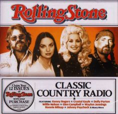 Kenny Rogers, Crystal Gayle, Dolly Parton and Willie Nelson Dolly Parton Kenny Rogers, Johnny Paycheck, Glen Campbell, Willie Nelson, Always Love You, Vintage Colors, Rolling Stones, Country Music, Classic