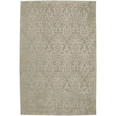 Mohawk Home Oasis Rectangular Gray Transitional Woven Area Rug (Common: 5-ft x 8-ft; Actual: 5.166-ft x 7.5-ft)