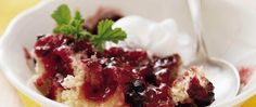 Turn the flavor upside-down and use berries instead of pineapple in a classic dessert.