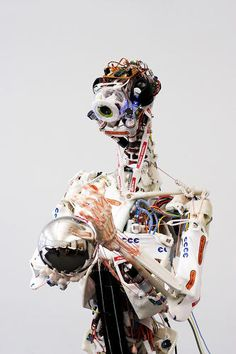 I always thought on key to developing AI is to give the robot NEEDS, like hunger or pain. This one is built anatomically like a human. A spine with discs that deflate through the day (like ours) forces it to sleep in order to stand it's spine back up.