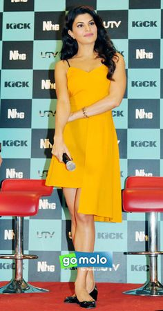 Jacqueline Fernandez at the Launch of Hindi movie 'Kick' action making video in Mumbai