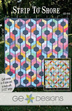 Strip To Shore - PDF Quilt Pattern