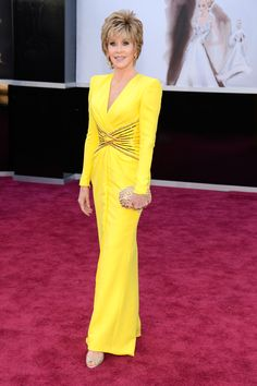 #JaneFonda at the Oscars 2013. Timeless as ever! GettyImages
