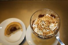 """Coppa Sabauda"", specialty in Turin. With Gianduia chocolate, coffee & cream."