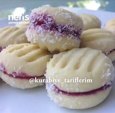 Baking Recipes, Cookie Recipes, Frozen Yogurt, Cheesecake, Dinner Recipes, Food And Drink, Menu, Cookies, Fruit